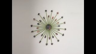 getlinkyoutube.com-Jigsaw Puzzle Wall Art Decor - DIY Crafts and Gifts