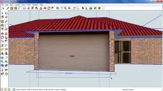getlinkyoutube.com-Sketchup house: Step 5, Importing pictures into sketchup
