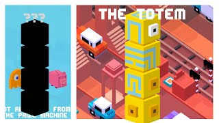 CROSSY ROAD THE TOTEM UNLOCK | New Secret Character of the Monument Valley & Shooty Skies Update