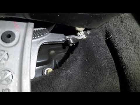 Тайна пружинки ручки ручника Mercedes W140