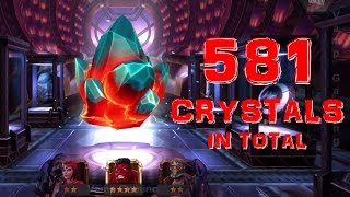 Marvel Contest of Champions - Crystal Opening: 581 Crystals In Total