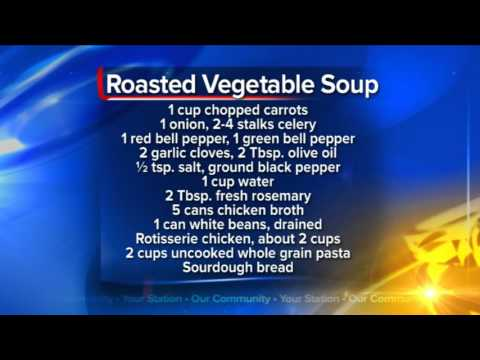 What's For Dinner: Roasted Vegetable Soup