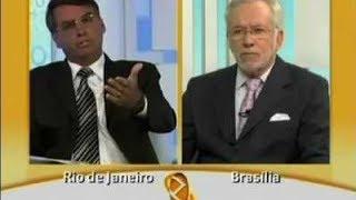"""getlinkyoutube.com-GLOBO NEWS: Bolsonaro e Alexandre Garcia falam sobre a """"Comissão da Verdade"""""""
