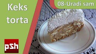 getlinkyoutube.com-08 - Uradi sam - Obična keks torta
