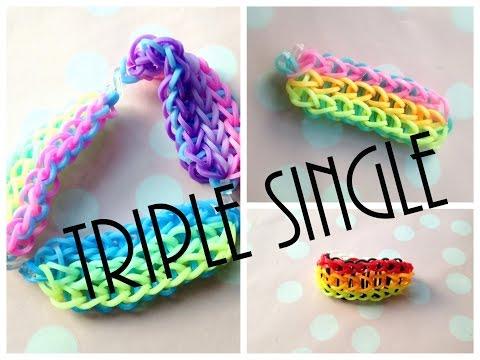 Jak zrobić bransoletkę triple single - tutorial