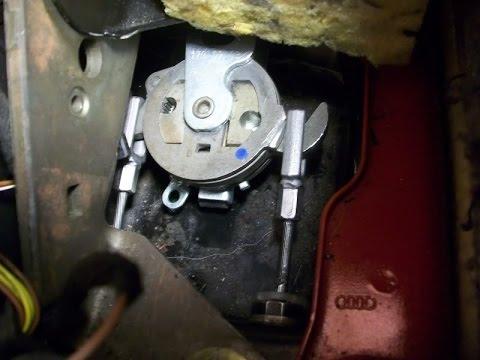 Audi A handbrake adjustment reset