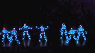 getlinkyoutube.com-Балет Аллы Духовой «Тодес» - танец в темноте, просто жесть