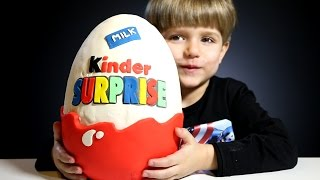 getlinkyoutube.com-Giant Kinder Surprise Egg made of Play-Doh​​​