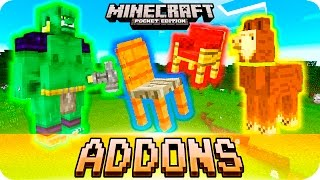 getlinkyoutube.com-Minecraft PE 0.16.0 Addons - TOP 5 BEST Small ADDONS with Download! iOS & Android MCPE 0.16.0