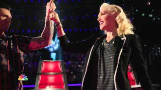 getlinkyoutube.com-Season 7 Sneak Peek with Gwen Stefani on The Voice [22-08-14]