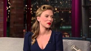 getlinkyoutube.com-Scarlett Johansson on David Letterman - January 8 2014 - Full Interview
