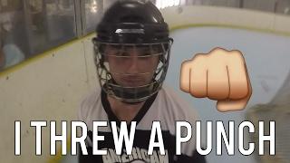 getlinkyoutube.com-GoPro Roller Hockey - FIGHT!!!!! (HD)