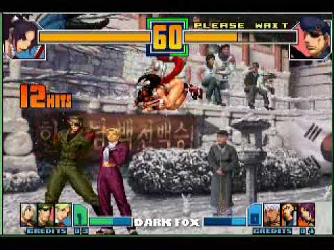 KOF 2001 combos Wait and Bleed by Dark Fox