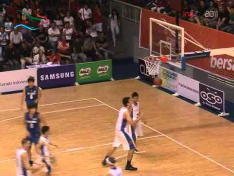 PERTANDINGAN BASKET PUTRA PUTRI INDONESIA VS THAILAND Babak SEMIFINAL SEA GAMES, 18 11 2011