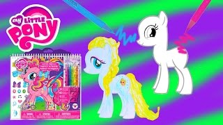 getlinkyoutube.com-My Little Pony Sketch Portfolio Create Custom MLP Ponies Art Drawing Set Video Cookieswirlc