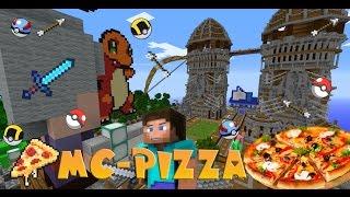 Rivth28 - Minecraft เซิฟ Pizza : แนะนำเซิฟ Survival เควสเยอะทำเควส ไอเทมต่างๆ โปเกบอลวิ่งไว [1.8]