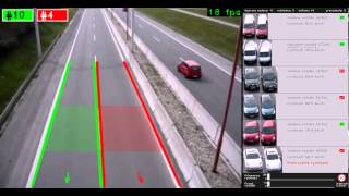 Automated Traffic Surveillance System - Video #1