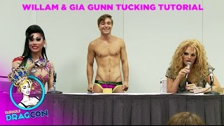 Tucking Tutorial with Willam Belli & Gia Gunn at RuPaul's DragCon
