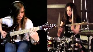 getlinkyoutube.com-Tina S and Meytal Cohen - Metallica cover [Master of Puppets]