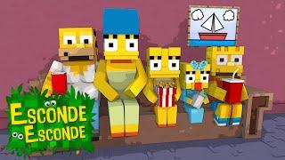 getlinkyoutube.com-Minecraft: OS SIMPSONS! (Esconde-Esconde)