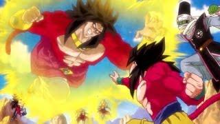getlinkyoutube.com-Dragon Ball Heroes JM7 Super Saiyan 4 Broly Opening [HD]