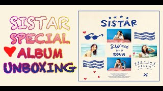 getlinkyoutube.com-Sistar Special Album 'Sweet & Sour' Unboxing