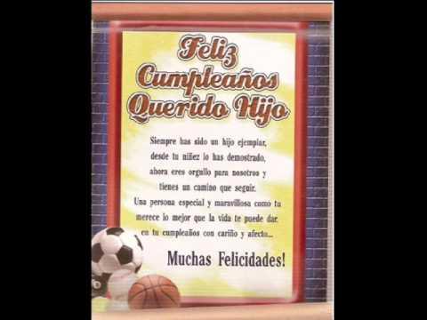 Feliz cumpleaños mi hijo querido - Imagui