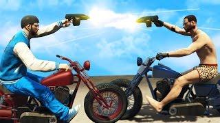 getlinkyoutube.com-BRUTAL MOTORCYCLE VS MOTORCYCLE CHALLENGE!! (GTA 5 Online Multiplayer Funny Moments)