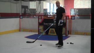 getlinkyoutube.com-Hockey : SlapShot Fundamentals