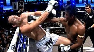 getlinkyoutube.com-Buakaw Vs Zaripov Rustem KNOCK OUT! Thai Fight 2012