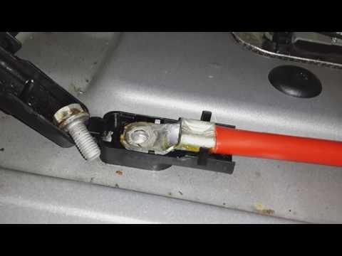 Плюсовой кабель BMW ... и его проблемы