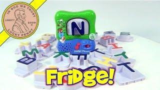 getlinkyoutube.com-LeapFrog Fridge Phonics & Magnetic Word Builder Letters Learning Toy 2002
