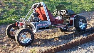 getlinkyoutube.com-Homemade Go Kart 103-HP Burnouts Wild Ride GoPro