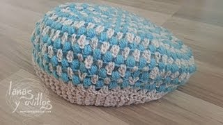 getlinkyoutube.com-Tutorial Boina Crochet o Ganchillo