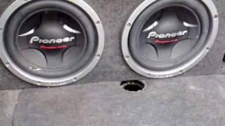 """getlinkyoutube.com-2 pioneer 12"""" + poderoso amplificador infinity"""
