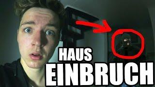 EINBRECHER IM HAUS!
