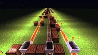 getlinkyoutube.com-【minecraft】千年幻想郷 ~ History of the Moonをnoteblockで演奏してみた【東方】