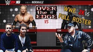 getlinkyoutube.com-WWE 2K16 PS4, ROSTER COMPLETO DATI TECNICI DIVAS MANAGER SUPERSTARS e TIPOLOGIE DI MATCH