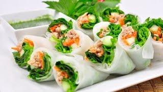 getlinkyoutube.com-Fresh Vegetable Rice Wraps - Kuay Tiew Lui Suan (ก๋วยเตี๋ยวลุยสวน)