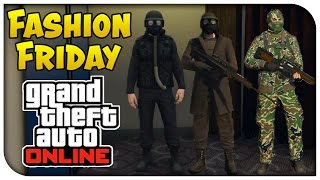 getlinkyoutube.com-GTA 5 Online - FASHION FRIDAY! (Fallout Desert Ranger Combat Armor, WW2 Soldier & The Hunter)