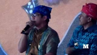 Konser Pasha Ungu di Even F8 Makassar