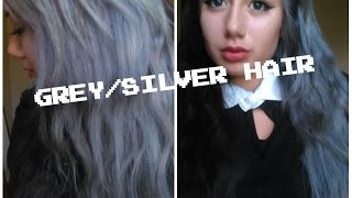 getlinkyoutube.com-How To: Grey/ Silver Hair with Wella Color Charm 050