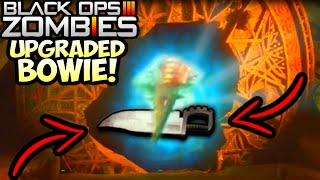 "getlinkyoutube.com-Black Ops 3 ZOMBIES ""UPGRADED BOWIE KNIFE"" GLITCH LIVE WALKTHROUGH! (Shadows of Evil Upgraded Bowie)"