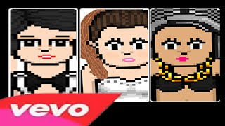 getlinkyoutube.com-Jessie J, Ariana Grande, Nicki Minaj - Bang Bang [Versão Habbo]