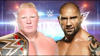 getlinkyoutube.com-Brock Lesnar vs Batista Wrestlemania 32 Promo HD