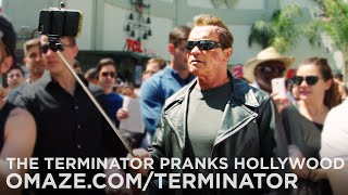 getlinkyoutube.com-Arnold Pranks Fans as the Terminator...for Charity