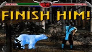 getlinkyoutube.com-Mortal Kombat Chaotic - Bear Sub-Zero playthrough