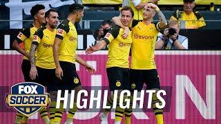 Borussia Dortmund vs. FC Augsburg | 2018-19 Bundesliga Highlights width=