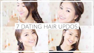 getlinkyoutube.com-🎃7個約會頭髮造型 7 Dating Hair Updos | Pumpkin Jenn🎃