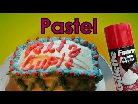 Como hacer un pastel de broma con crema de afeitar   Ideas para bromas. Platica Polinesia